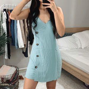 LAST 🆕 Mariah Blue Mini Dress